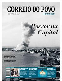 Capa do jornal Correio do Povo 16/08/2020