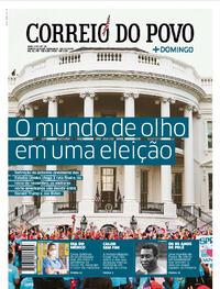 Capa do jornal Correio do Povo 18/10/2020