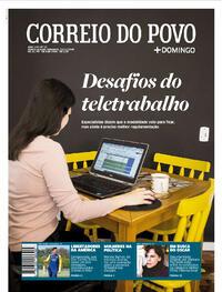 Capa do jornal Correio do Povo 22/11/2020