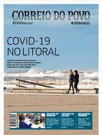 Capa do jornal Correio do Povo 23/08/2020