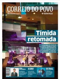 Capa do jornal Correio do Povo 25/10/2020