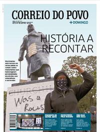 Capa do jornal Correio do Povo 28/06/2020