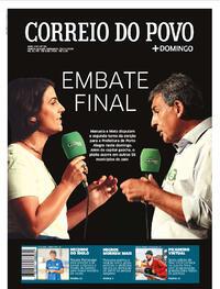 Capa do jornal Correio do Povo 29/11/2020