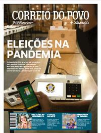 Capa do jornal Correio do Povo 30/08/2020