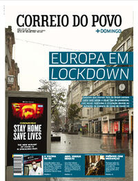 Capa do jornal Correio do Povo 24/01/2021