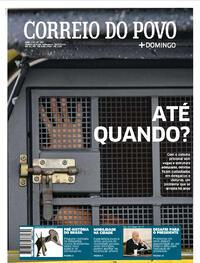 Capa do jornal Correio do Povo 25/09/2021