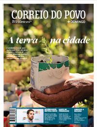 Capa do jornal Correio do Povo 28/02/2021