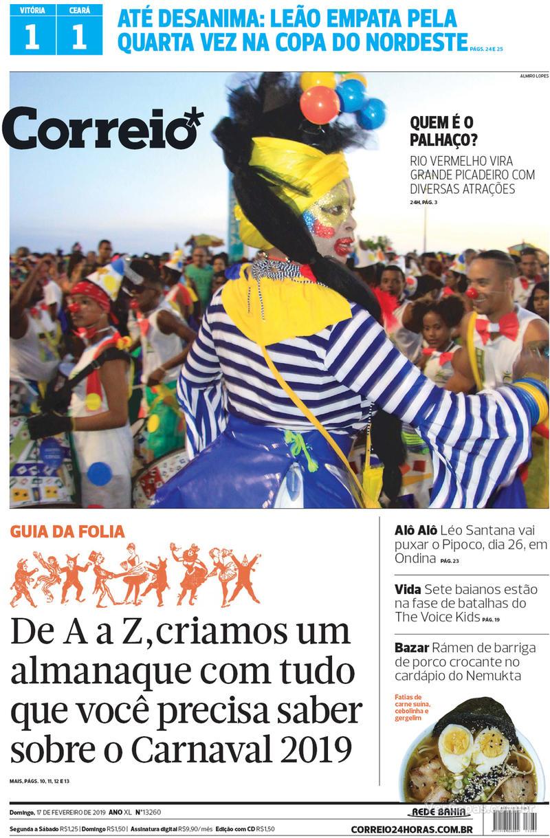 Capa - Correio - Domingo b36ce09922e05