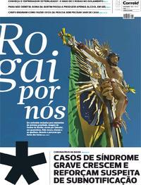 Capa do jornal Correio 04/04/2020