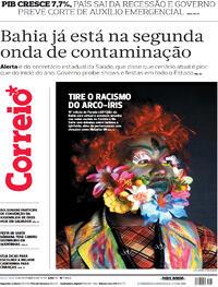 Capa do jornal Correio 04/12/2020