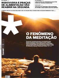 Capa do jornal Correio 08/08/2020