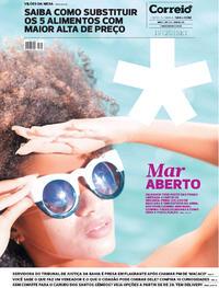 Capa do jornal Correio 19/09/2020