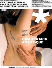 Capa do jornal Correio 24/10/2020