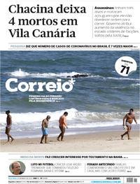 Capa do jornal Correio 26/05/2020