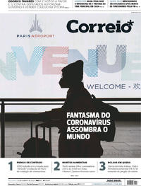 Capa Jornal Correio