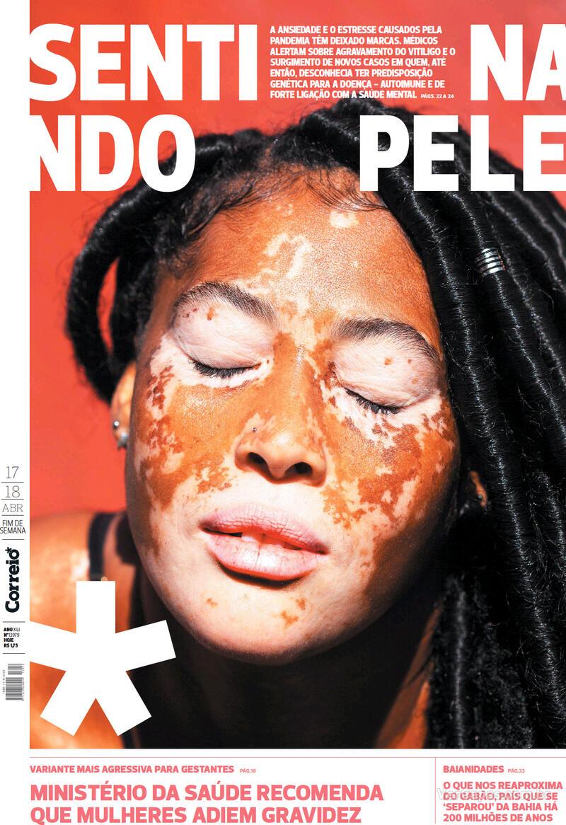 Capa do jornal Correio 17/04/2021