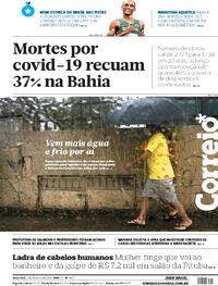 Capa do jornal Correio 03/08/2021