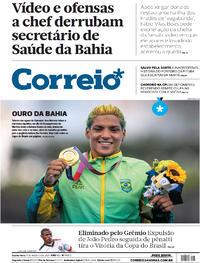 Capa do jornal Correio 04/08/2021