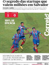 Capa do jornal Correio 10/05/2021