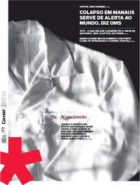 Capa do jornal Correio 16/01/2021