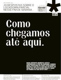 Capa do jornal Correio 27/02/2021