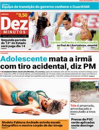 Capa Dez Minutos 2018-12-01