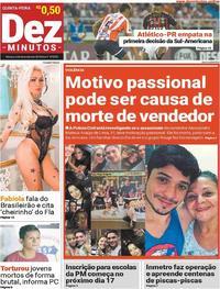 Capa Dez Minutos 2018-12-06