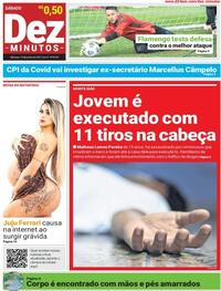 Capa do jornal Dez Minutos 19/06/2021