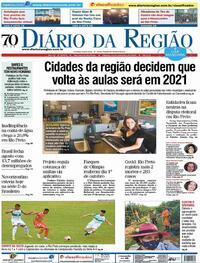 Capa do jornal Diário da Região 19/09/2020