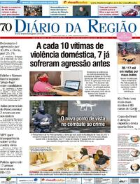 Capa do jornal Diário da Região 28/10/2020