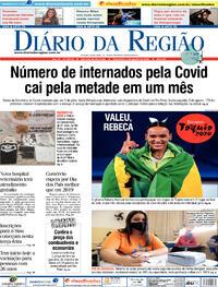 Capa do jornal Diário da Região 03/08/2021