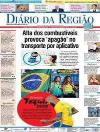 Capa do jornal Diário da Região 04/08/2021