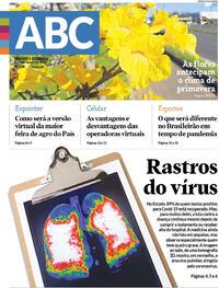 Capa do jornal Diário de Canoas 08/08/2020
