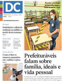 Capa do jornal Diário de Canoas 20/10/2020
