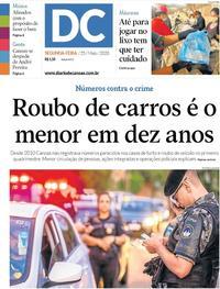 Capa do jornal Diário de Canoas 25/05/2020
