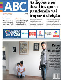 Capa do jornal Diário de Canoas 30/05/2020