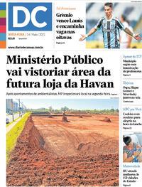 Capa do jornal Diário de Canoas 14/05/2021