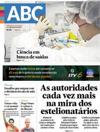 Capa do jornal Diário de Canoas 17/04/2021