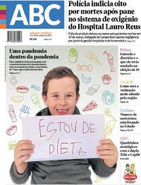 Capa do jornal Diário de Canoas 19/06/2021