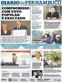 Capa Diario de Pernambuco 2018-12-11