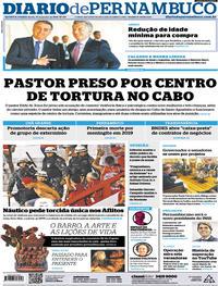 Capa Diario de Pernambuco 2019-01-17