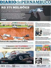 Capa Diario de Pernambuco 2019-12-11