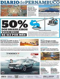 Capa Diario de Pernambuco 2019-10-17