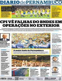 Capa Diario de Pernambuco 2019-06-24