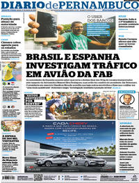 Capa Jornal Diario de Pernambuco