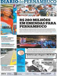 Capa Diario de Pernambuco 2020-01-20