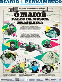 Capa Diario de Pernambuco 2020-02-21