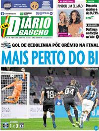 Capa Diário Gaúcho 2017-12-13