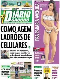 Capa Diário Gaúcho 2018-01-23