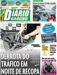 Capa Diário Gaúcho 2018-02-23